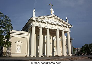 St Stanislaus Cathedral in Vilnius, Lithuania