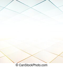 Vector Background with copy-space White and grey abstract...