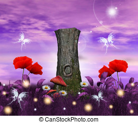 Enchanted flora - Enchanted nature series - Enchanted flora...