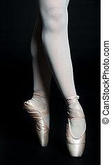 ballerine, jambes