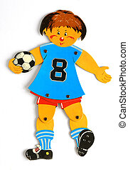 Toy football player