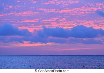 Cotton Candy Sunrise - Sunrise in Captiva, Florida