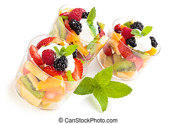 Fruit salad.