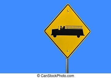Fire Truck Sign