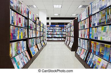 den, bibliotek