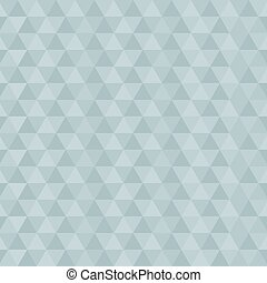 Retro Blue Abstract Vector Triangle Background