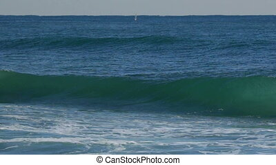 Big waves in Spain