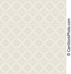 Ornamental seamless background - Ornamental seamless khaki...
