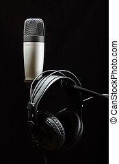 Professional audio recording equipm - Stereo music and audio...