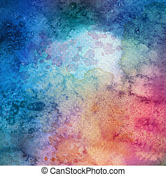 Abstract acrylic and watercolor painted background Texture...