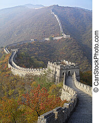 Great wall of China offers great wievs