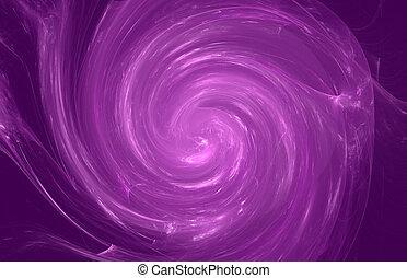 Violet whirlpool