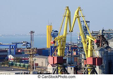 Odessa sea port container terminal ,Ukraine