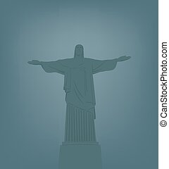 Statue of Jesus Christ in Rio de Ja