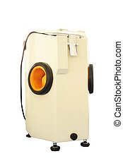 sandblasting machine for dentistry under the white...