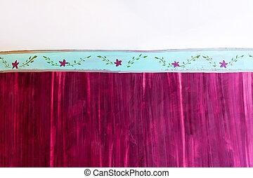 Purple wall 2
