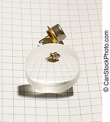 Electronic transistor and its view - Optical instrument from...