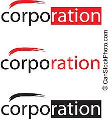 Vector Corporation Logo - logo concept of corporation with a...