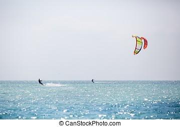 Kitesurfing - various kitesurfing photos