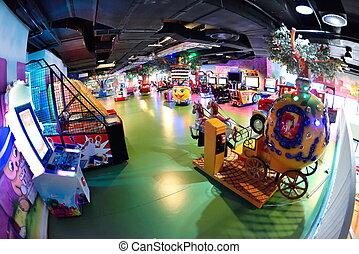 shopping mal playground - modern shopping mall playground...
