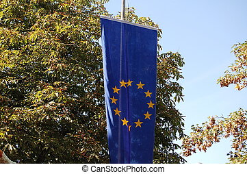 the flag for the europe