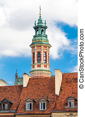 Historic buildings in Warsaw - Historic buildings in the...