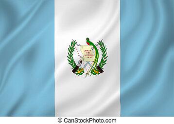 guatemala, bandera,