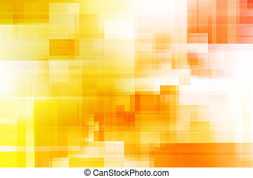Digital Art Abstract Background - Orange Or Yellow Digital...