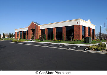 Office building - New, unoccupied office building,...