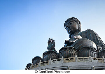 Tian Tan Giant Buddha in Hong Kong - Tian Tan Giant Buddha...