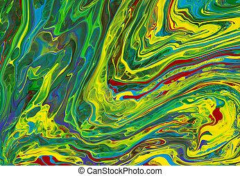 芸術, 抽象的, 背景