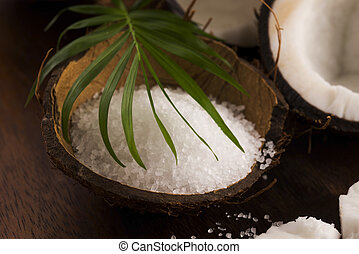 coco bath coconut with sea salt