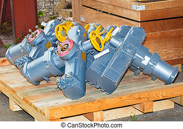 Electro actuators ready to dispatch - electro actuators...