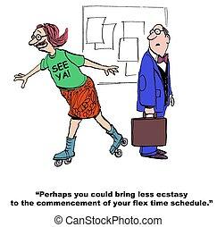 Flex Time Schedule