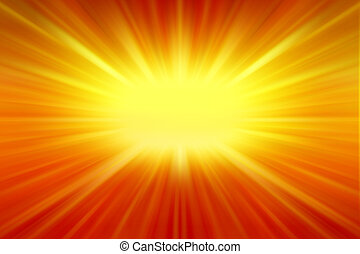 Bright background - Bright yellow and orange color...