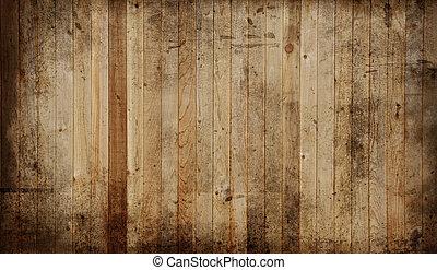 Cedar panel - Weathered cedar background panel.