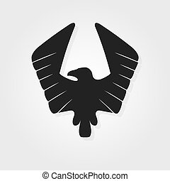 Eagle symbol - vector illustration