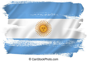 Argentina flag backdrop background texture.