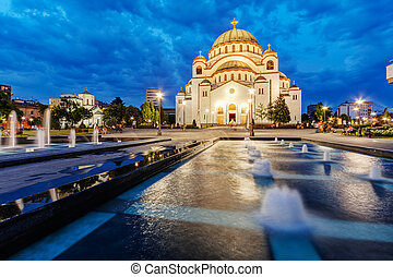 Saint Sava Temple - Saint Sava temple, Belgrade Serbia