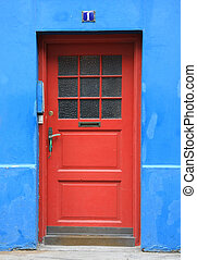 Front door - Colorful front door