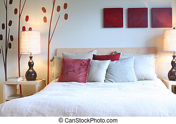 Bedroom - Beautiful contemporary bedroom