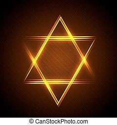 star of David - Vector illustration of Star of David from...