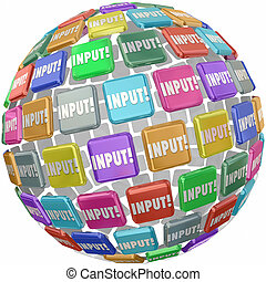 Input Word Tile Feedback Comments Information Reviews Ideas