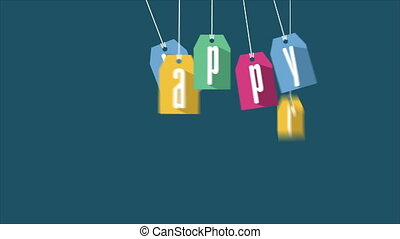 Happy easter Video animation - Happy easter, Video...