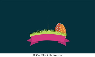 Easter Video animation - Easter rabbit, Video animation, HD...