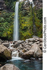 Dawson Falls New Zealand - Dawson falls found in some of New...