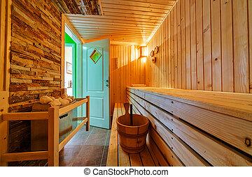 sauna,
