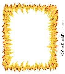 fire flame, fire pattern