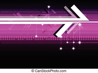 abstract arrow digital background