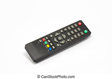 Remote control for sattelite receiver box